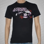 Avenged Sevenfold Skeleton Gun Black T-Shirt