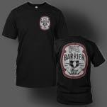 Barrier Badge Black T-Shirt