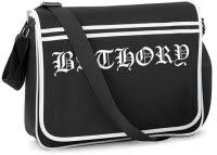Bathory Logo Retro Messenger Bag