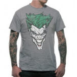 Batman Joker Retro Face T-Shirt