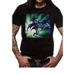official Batman Distressed Jump T-Shirt
