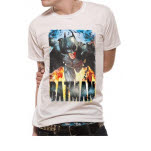 Batman Running Flames T-Shirt