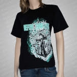 Before Their Eyes Anchor Black T-Shirt