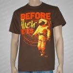Before Their Eyes Astronaut Brown T-Shirt