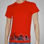 Before Today Red City T-Shirt