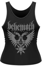 Behemoth Eagle Logo Ladies Tank Vest