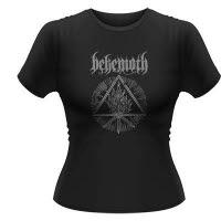 Behemoth Furor Divinus Girlie T-Shirt