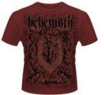 Behemoth Furor Divinus Maroon T-Shirt