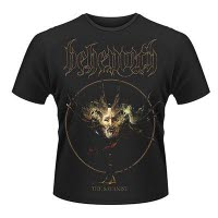 Behemoth Satanist Album T-Shirt Front And Back Print