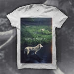 Being As An Ocean Alpine Wolf White T-Shirt