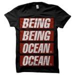 Being As An Ocean Propaganda Black T-Shirt