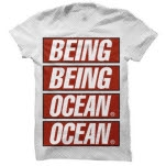 Being As An Ocean Propaganda White T-Shirt