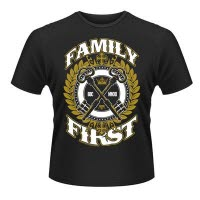 Ben Bruce Asking Alexandria Family First T-Shirt