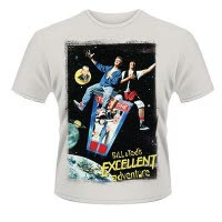 Bill And TedS Excellent Adventure Poster T-Shirt