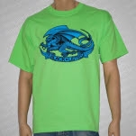 Blacklisted Dragon Green T-Shirt