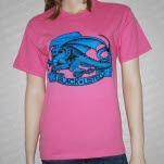 Blacklisted Dragon Pink T-Shirt