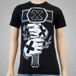 Black Rose District Hammer Black T-Shirt