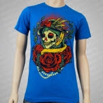 Black Rose District Pride Teal T-Shirt