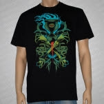 Black Rose District Sloth Black T-Shirt