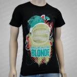 Bleach Blonde Deep Space Black T-Shirt