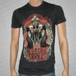 Bleeding Through Pray Gray T-Shirt