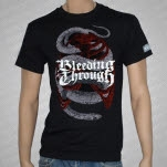 Bleeding Through Snake Cage Black T-Shirt