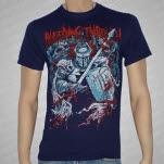 Bleeding Through Warrior Navy Blue T-Shirt