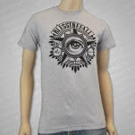 blessthefall Eye Heather Grey T-Shirt