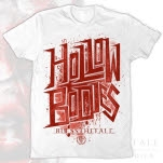 blessthefall Hollow Bodies White T-Shirt