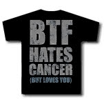 blessthefall Hates Cancer Black T-Shirt