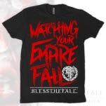 blessthefall Lyric Black T-Shirt