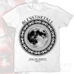 blessthefall Moon White T-Shirt