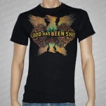 Blood Has Been Shed Eagle Black T-Shirt