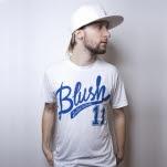 Blush The Strike Out White T-Shirt