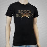 Boots Electric Lightning Bolts Black T-Shirt