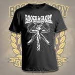 Booze  Glory Crucified Black T-Shirt