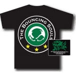 Bouncing Souls Stars Black T-Shirt