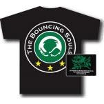 Bouncing Souls Stars Black T-Shirt