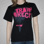 Boys Night Out Train Wreck Black T-Shirt