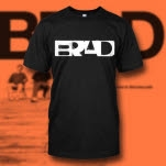 Brad Logo Black T-Shirt
