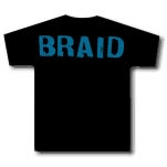 Braid Logo Black T-Shirt