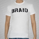 Braid Logo White T-Shirt