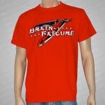 Brain Failure Straight Razor T-Shirt