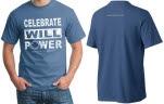 Brave Will Foundation Distressed Logo Denim T-Shirt