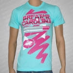 Breathe Carolina Lip Stick Aqua T-Shirt