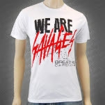 Breathe Carolina We Are Savages White T-Shirt