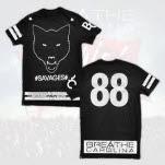 Breathe Carolina Wolf Black T-Shirt