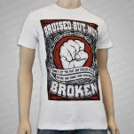 Bruised But Not Broken Fist White T-Shirt