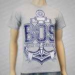 Built On Secrets Anchor Heather Grey T-Shirt