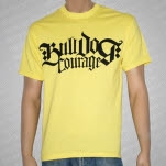 Bulldog Courage Logo Yellow T-Shirt